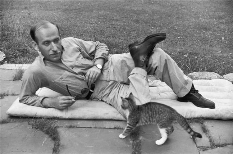 Saul ritratto da Cartier Bresson