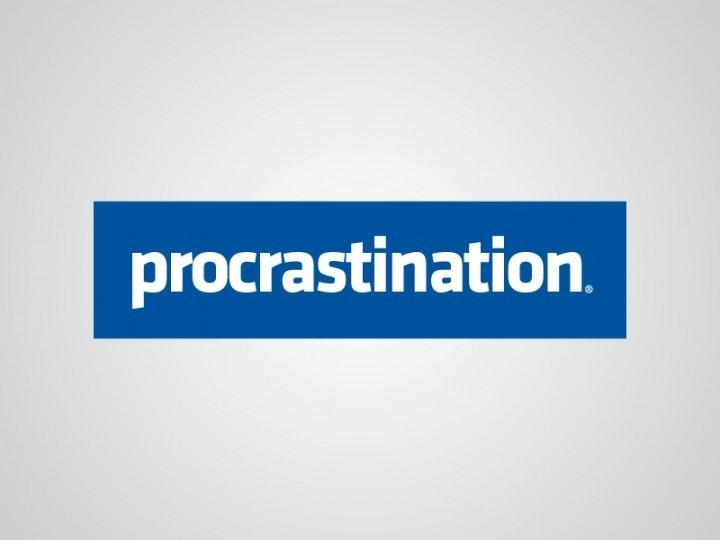 Le ragioni della procrastinazione (o rimandìte)