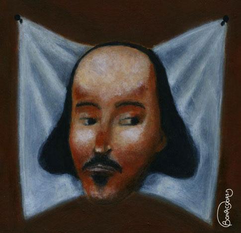 Shakespeare (illustrazione di Alessandro Bonaccorsi)
